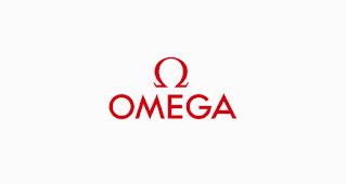 خط لوجو omega