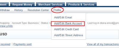 Cara Verifikasi Paypal Dengan Debit BCA