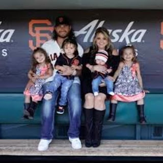 Crawford And His Wife With Their Adorable Kids