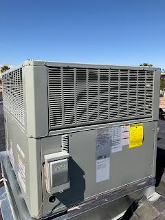 Innovative air Trane 4 ton HP rooftop