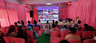 प्रधानमंत्री आवास योजना (शहरी) हितग्राहियों को लाभ वितरण एवं संवाद कार्यक्रम संपन्न