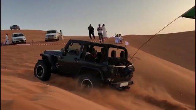 رحلة بالسيارة في الرياض