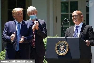 تعرف على البروفيسور منصف السلاوي Moncef El-Salawi الذي عينه الرئيس الأمريكي دونالد ترامب Donald Trump لإدارة الجهود الأمريكية لتطوير و توزيع لقاح لفايروس كورونا Coronavirus