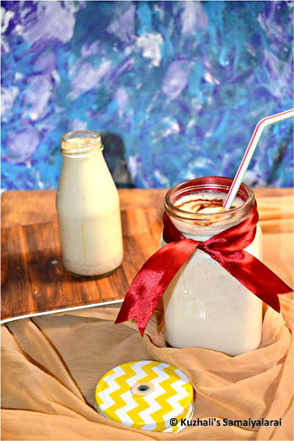 OATS DATES & ALMONDS MILKSHAKE- EASY MILKSHAKE RECIPE
