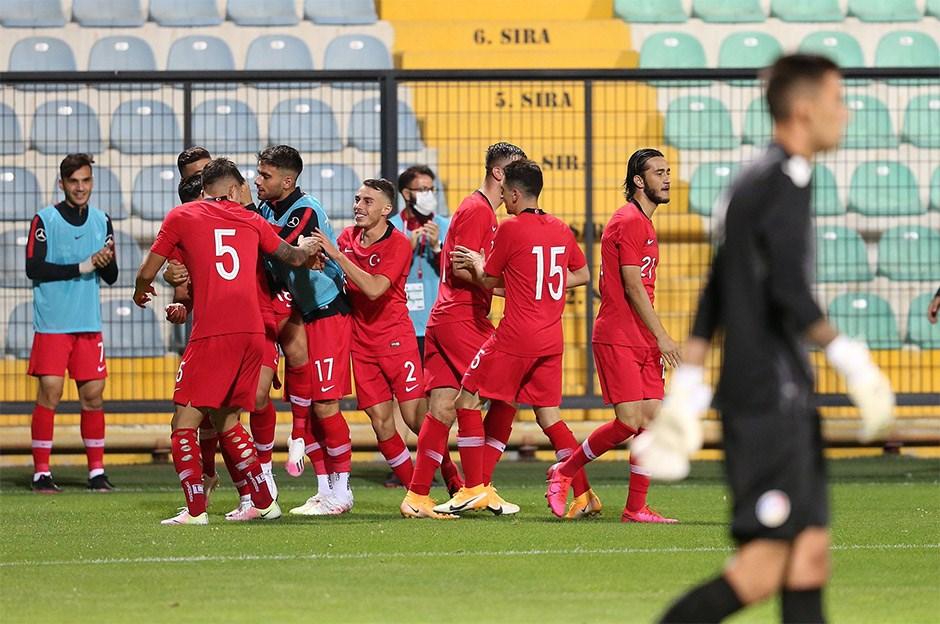 Türkiye: 1 - Andorra: 0 Maç skoru