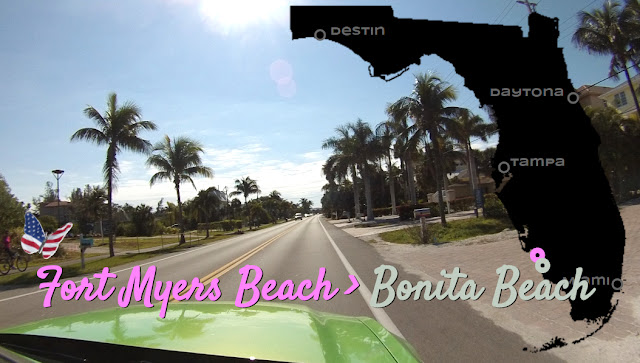 Fort Myers Beach nach Bonita Public Beach , Florida USA