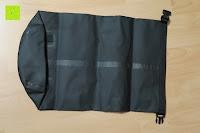 hinten Seemann: Dry Bag »Krake« Wasserdichte Trockentasche / Seesack / Survival Bag / Trockensack / Ideal für Kajak, Kanu, Segeln, Angeln, Schwimmen, Strand, Snowboarden, Skifahren, Bootfahren, Camping / Schützt Deine Wertsachen und Kleidung vor Staub, Nässe, Sand und Schmutz / 5L gelb