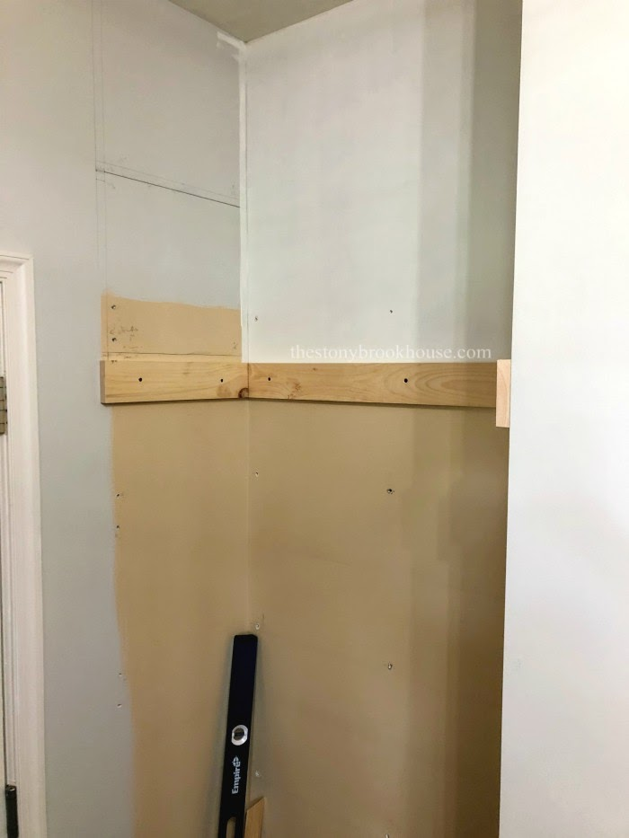Mudroom Progress
