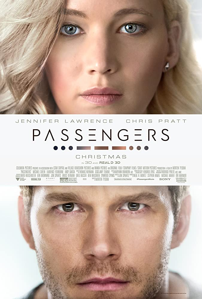 Passengers (2016) Dual Audio (Hindi+English) Movie Download in 480p | 720p GDrive