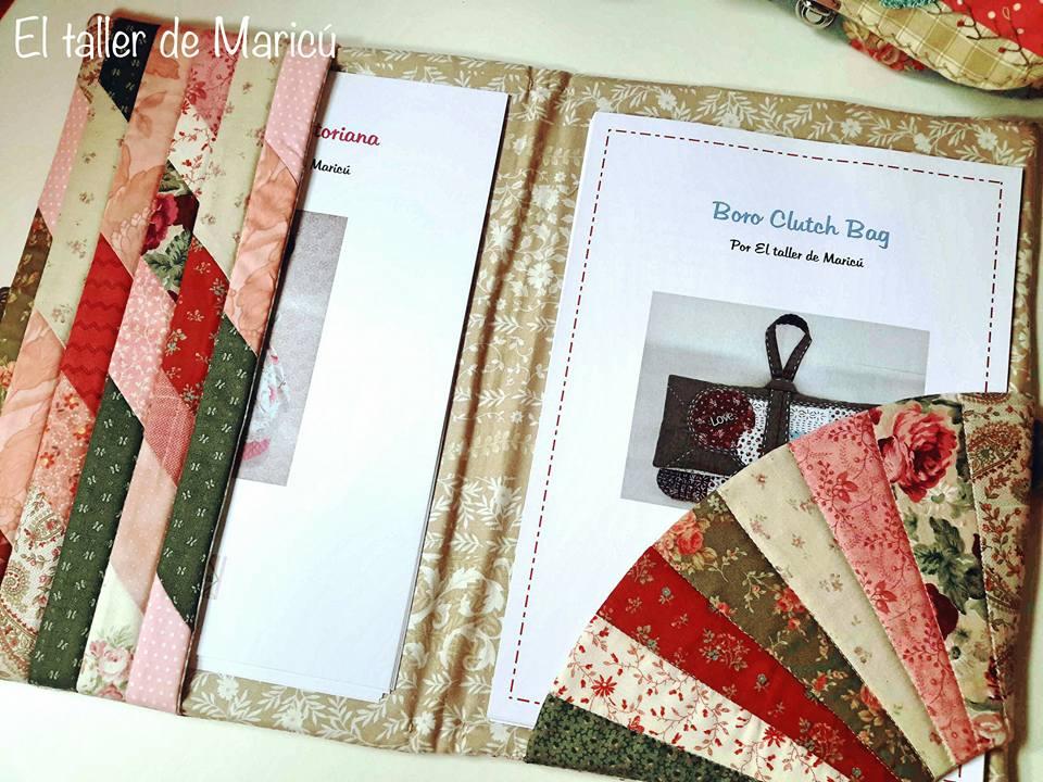 El taller de Maricú: Carpeta porta patrones...