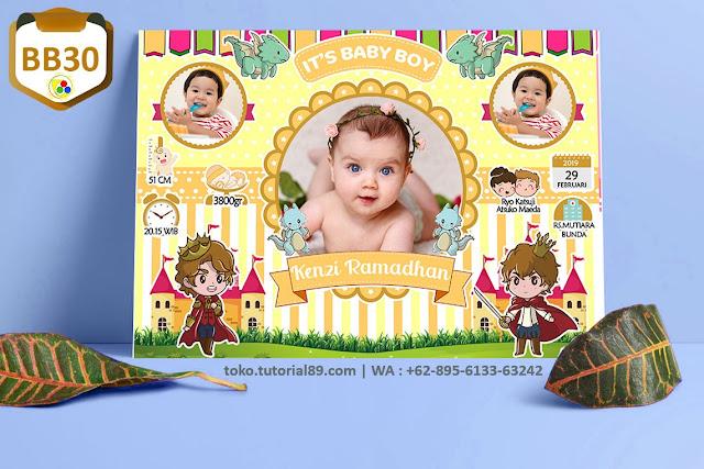 Biodata Bayi Costume Boy Boy Kode BB30 | Pangeran