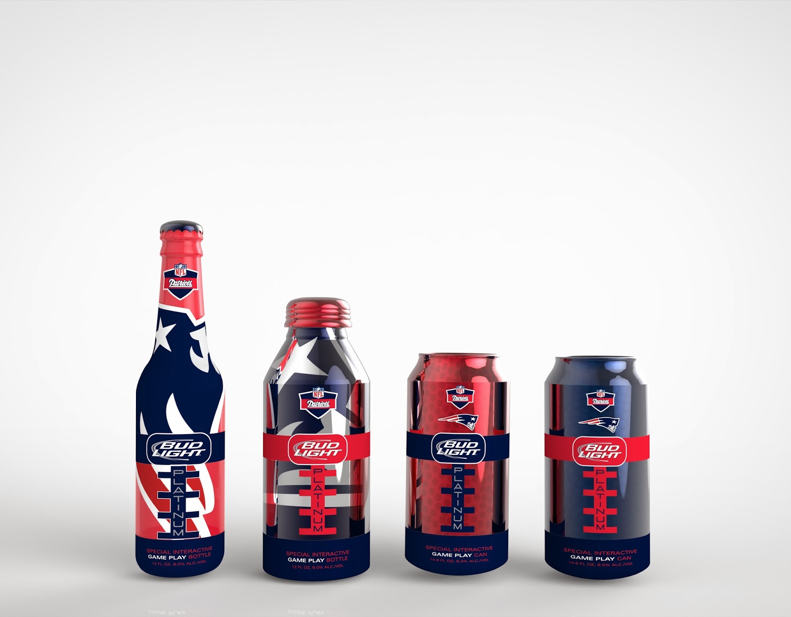 Bud Light (Student Project) On Packaging Of The World   Creative Package  Design Gallery
