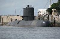 Submarino Argentino ARA San Juan (S-42) perdido: la última ubicación conocida en un mapa de Google Maps
