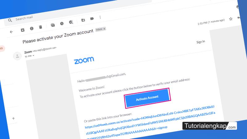tutorialengkap 3 cara mendafatar atau membuat akun Zoom pada Laptop