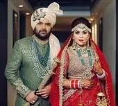 गिन्नी चतरथ अपने पति कपिल शर्मा के साथ