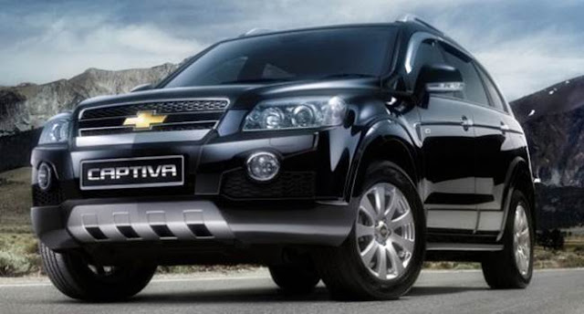 2018 Chevrolet Captiva Redesign