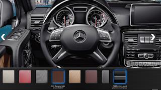 Nội thất Mercedes AMG G63 2015 màu Nâu Leather ZH2