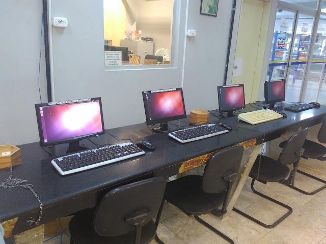 Ubuntu é utilizado na Biblioteca Central da UFS #EuViLinux