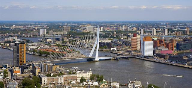 Vista de Roterdã
