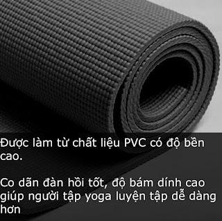 Chất liệu - Yếu tố tiên phong trong việc chọn thảm tập Yoga nhưng ít người biết đến