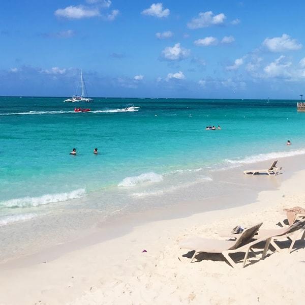 Beach at Turks and Caicos Provinciales - copyrighted Carissa Bonham
