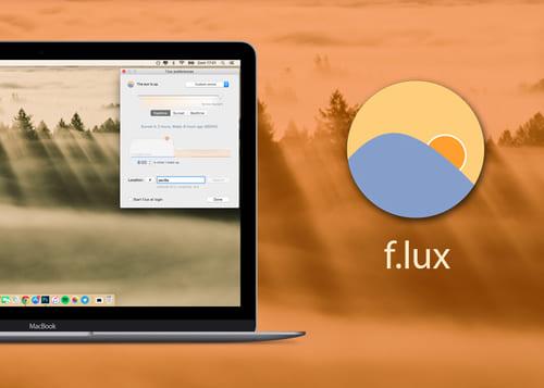 F.lux. Programa de luz azul para computador