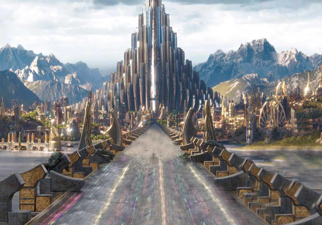 Asgard - O Mundo do Aesir Reino Dos Deuses e Deusas