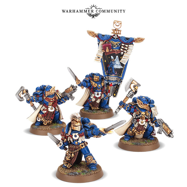 Guardia de Honor Ultramarines