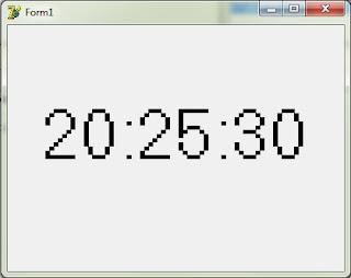 Cara Membuat Jam Digital Sederhana Dengan Delphi 7
