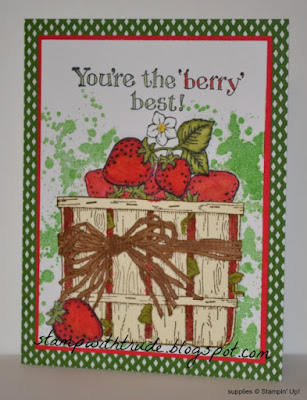 Berry Best, Stampin' Up!, http://stampwithtrude.blogspot.com , greeting card, throwback Thursday, retired stamp set