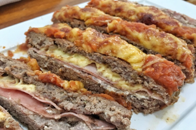 Carne moída a parmegiana low carb