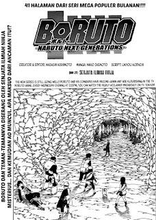 Update! Baca Manga Boruto Chapter 20 Full Sub Indo
