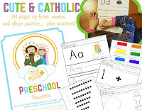 Catholic Preschool Printables
