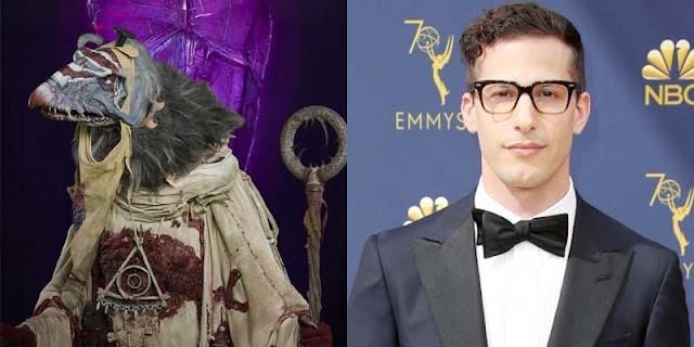 Andy Samberg es El Hereje en 'Cristal Oscuro: La era de la Resistencia'