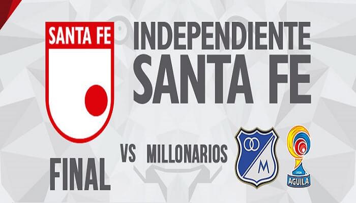 Ver Independiente Santa Fe vs Millonarios EN VIVO