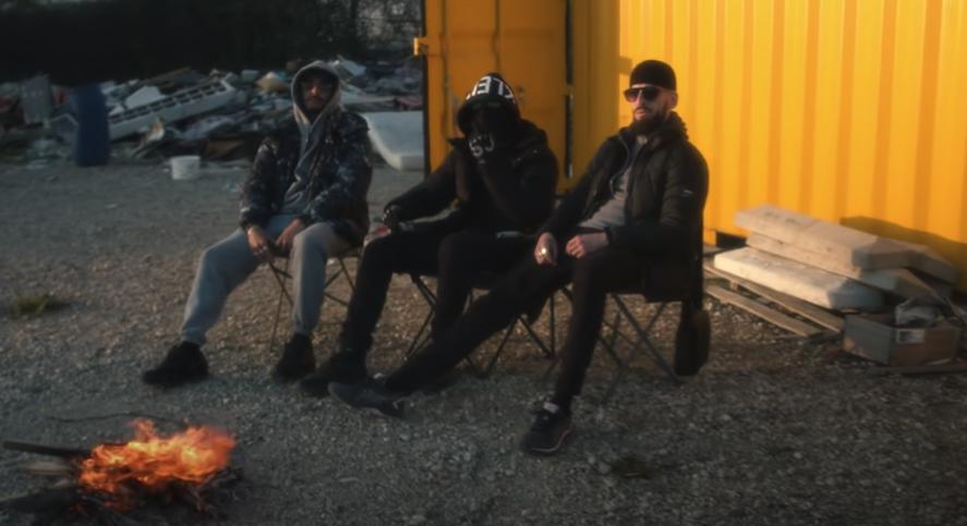 Photo du groupe SON extraite du clip Pause