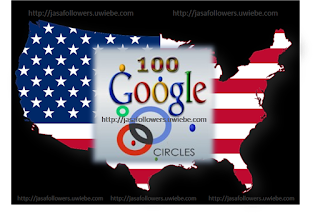 Paket 100 USA Google Plus Circle Followers