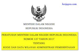 Kode dan Data Wilayah Administrasi Pemerintahan