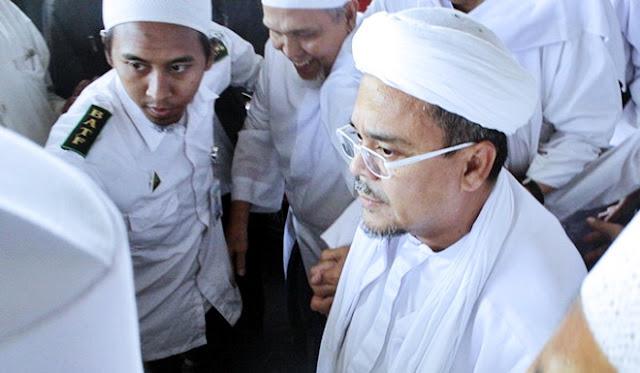 Habib Rizieq Bersumpah: Siapa pun yang Terlibat, Kami Bikin Tak Bisa Tidur!