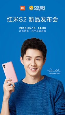 Xiaomi redmi S2 May 10