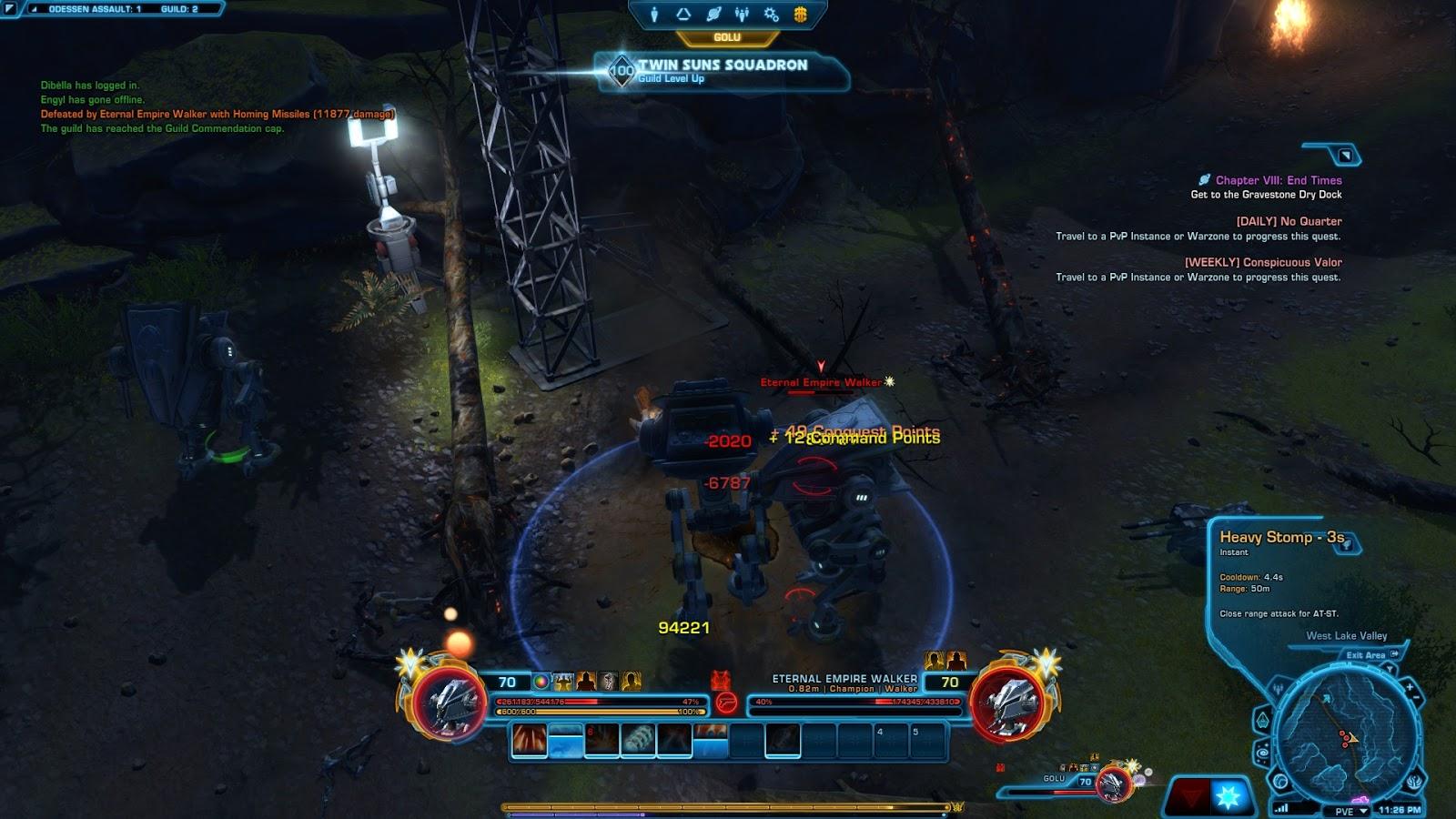 Going Commando   A SWTOR Fan Blog: Guild Level 100!