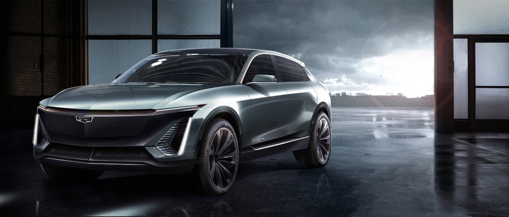 Cadillac Reveal its first fully electric car from the future