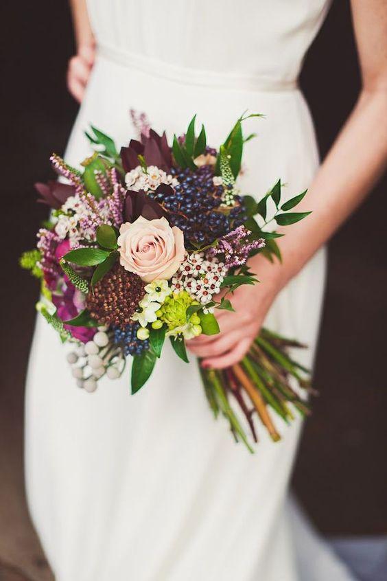 15 Autumn & Fall Wedding Bouquet Inspiration 2017 ~ Hot ...