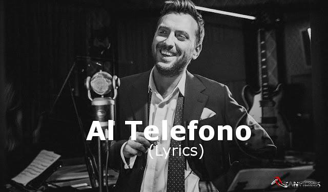 Al Telefono, Cesare Cremonini, testo canzone, Lyrics