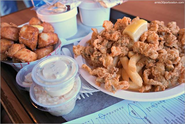 Almuerzo en Plymouth, Massachusetts