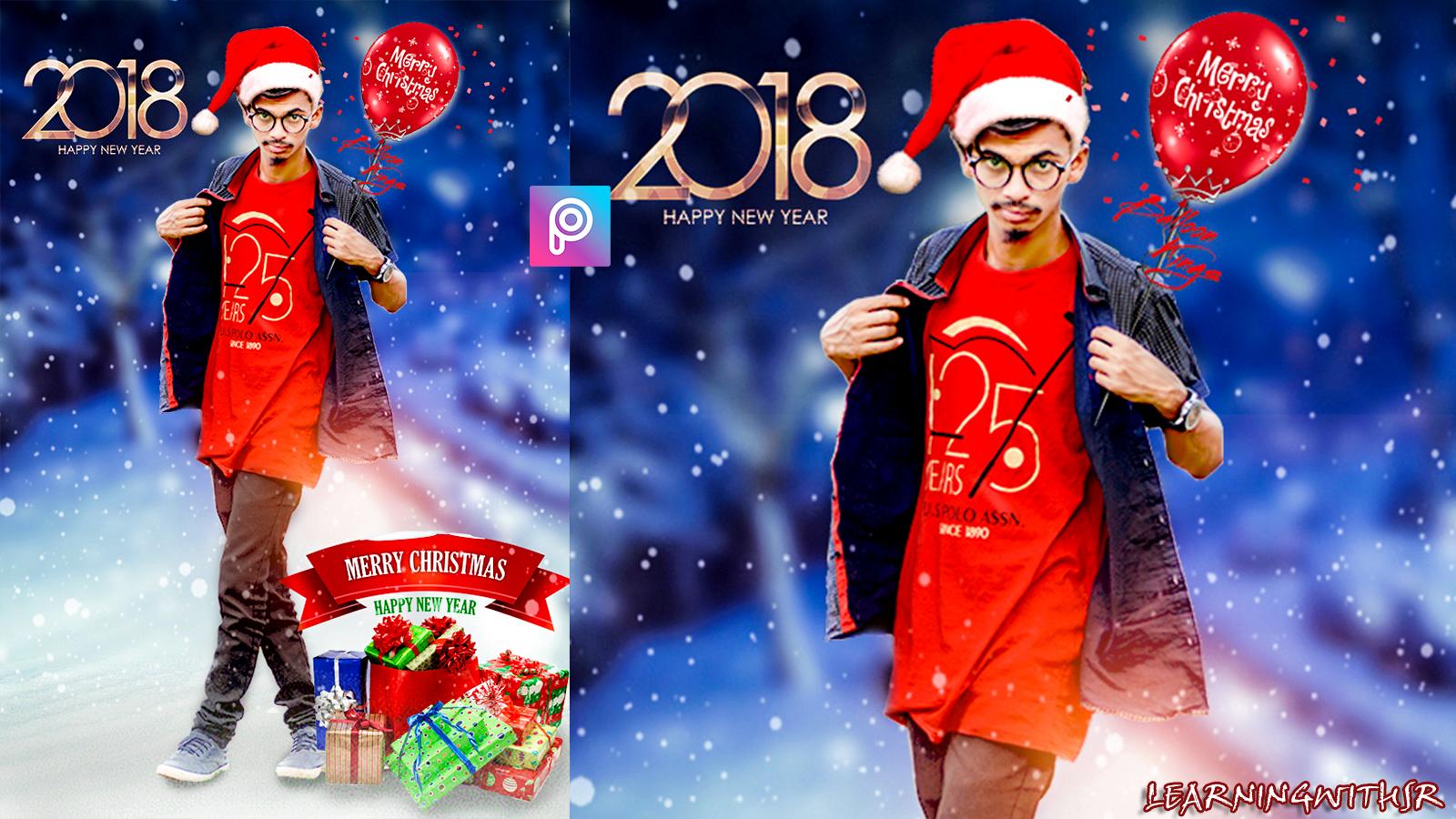 merry christmas picsart editing tutorial 2018 christmas special photo editing tutorial bg png