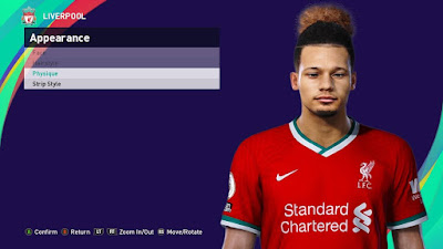 PES 2021 Faces Rhys Williams by SR