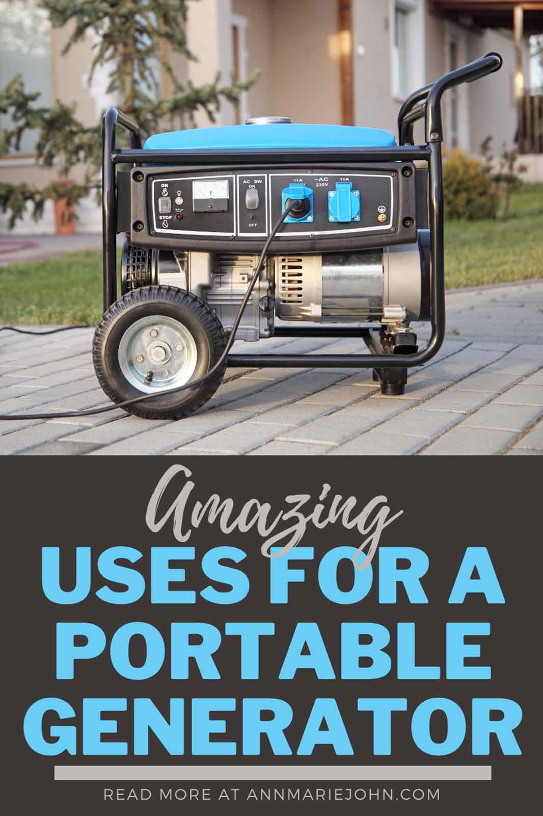 Amazing Uses for Portable Generators