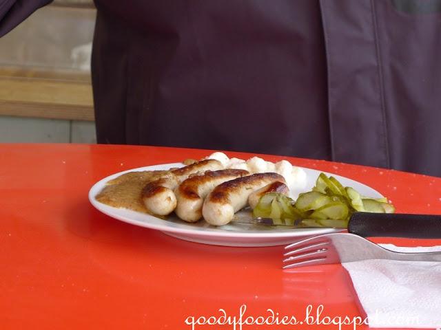 Fast Food Bratwurst