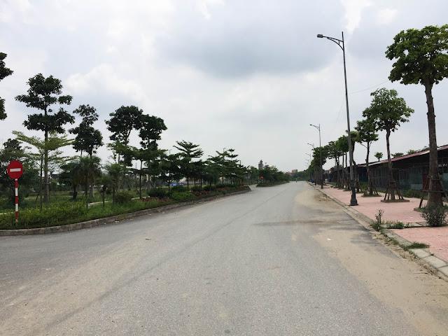 Lô đất triển khai giai đoạn 1 của dự án